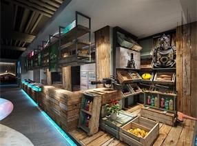 餐廳設計-西點軍蟹第二代形象