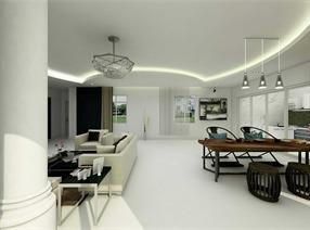 现代主义客厅设计