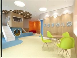 山西河津贝乐多幼儿园  设计面积 1200㎡ 西安言筑建筑装饰设计