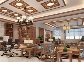 李志远-新中式轻奢办公室