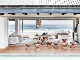 南非海滨别墅,从房子里的任何角落都可以看到海洋