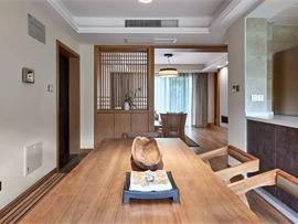 135㎡日式原木风 打造禅意惬意的空间