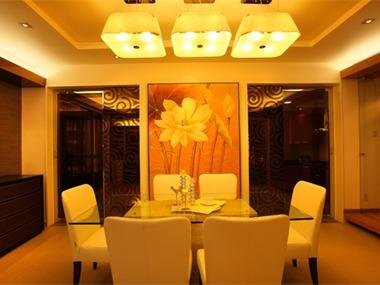 现代简约风格在处理空间方面一般强调室内空间宽敞、内