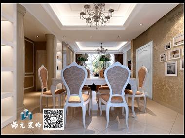 宜阳鑫都丽苑白色简欧,完美的颜色搭配,合理的平面布