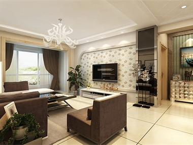 现代风格的居室重视个性和创造性的表现,即不主张追