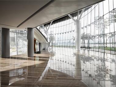 珠海联邦广场销售中心售楼中心吊顶
