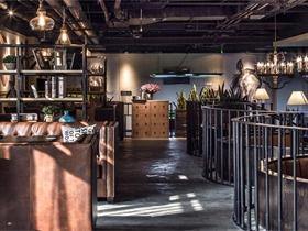 SO.SO咖啡吧设计咖啡厅吊顶