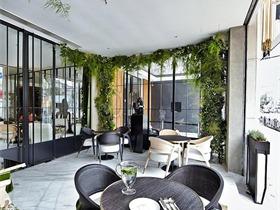 都市中那一丝浪漫 W+S CAFÉ设计咖啡厅