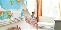 """在家中设置一张吊床,就这样舒适的""""荡漾""""起来"""