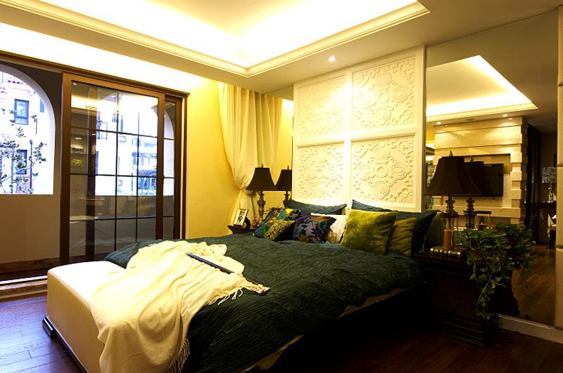 334平混搭风格家装案例图卧室