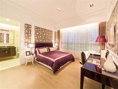 370平混搭风格家装案例图卧室