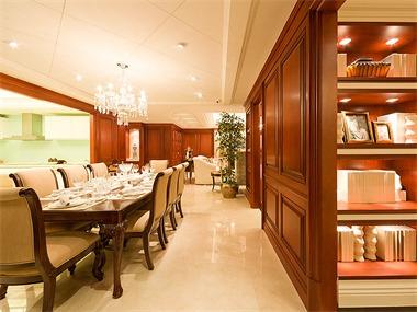 490平混搭风格家装案例图餐厅