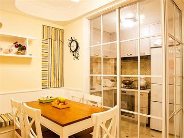 112平现代简约风格家装案例图餐厅