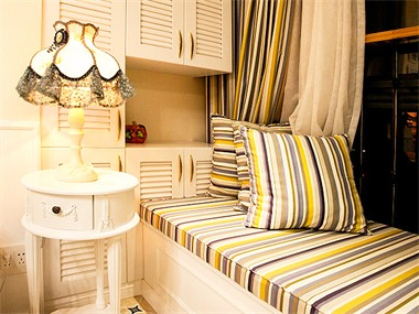112平现代简约风格家装案例图休闲区