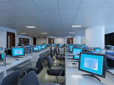 办公室大厅效果图