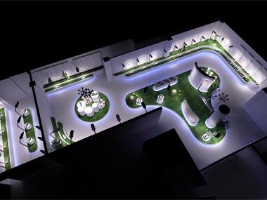 展厅立体设计图