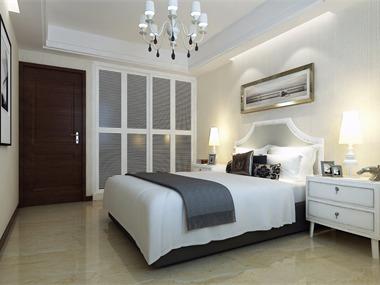 现代卧室壁橱效果图