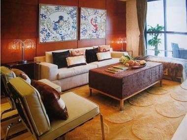 深圳东方尊峪客厅