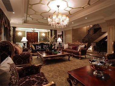 中央香榭别墅客厅