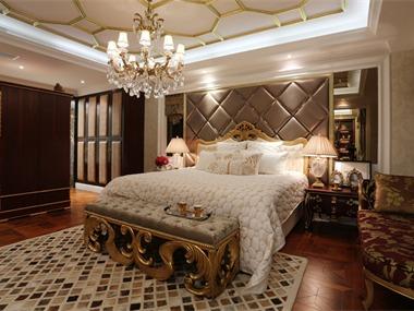 中央香榭别墅卧室