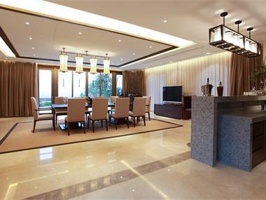 桂林水印长廊别墅餐厅吧台