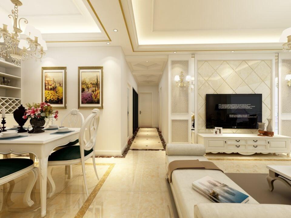 欧式客厅其它效果图