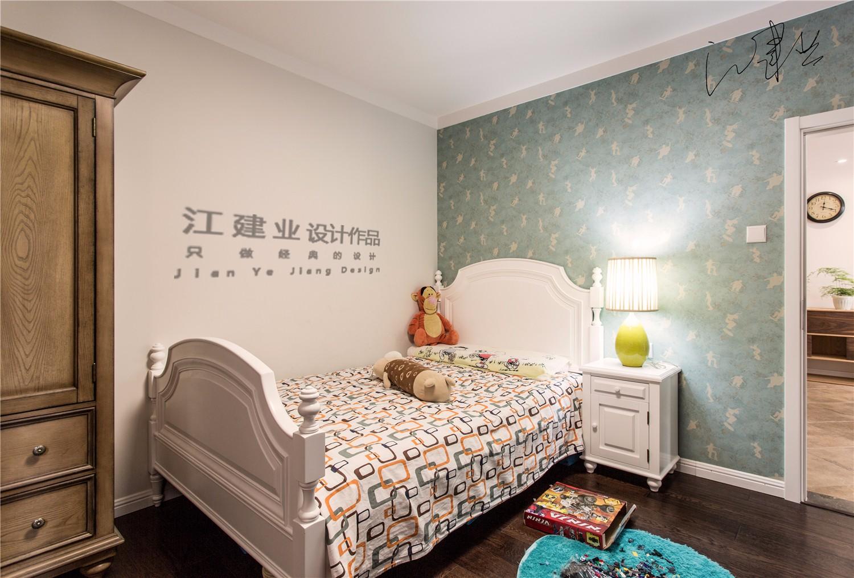 混搭卧室背景墙实景图