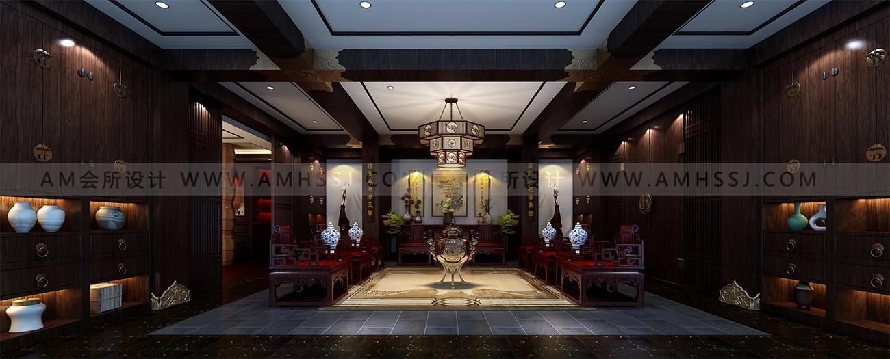AM设计 -名人汇餐饮休闲会所