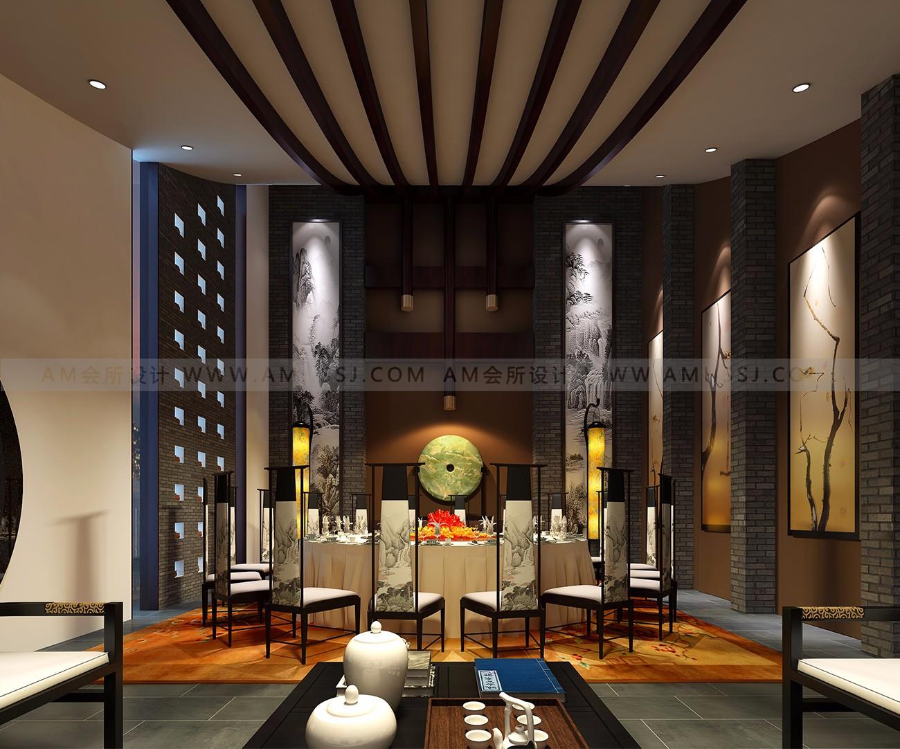 AM设计-名人汇餐饮休闲私人会所