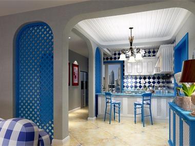 地中海餐厅吊顶效果图