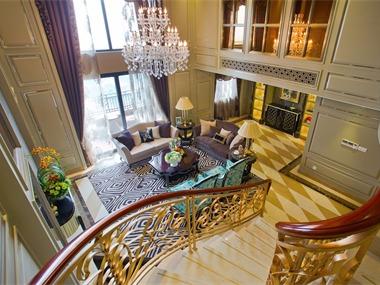 其它客厅楼梯实景图
