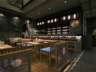 旭东设计-日本料理餐厅