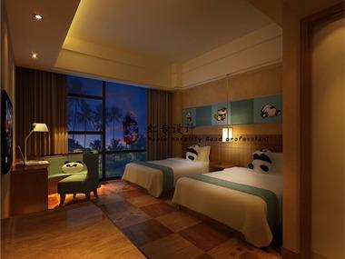 衡水专业酒店设计公司-红专设计 米瑞熊猫王子酒店
