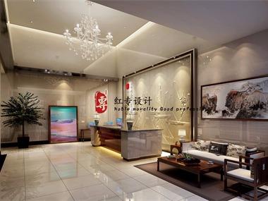 廊坊专业酒店设计-红专设计 茗山居酒店