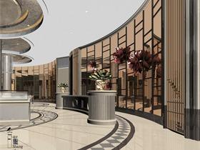 宁波象山售楼处设计