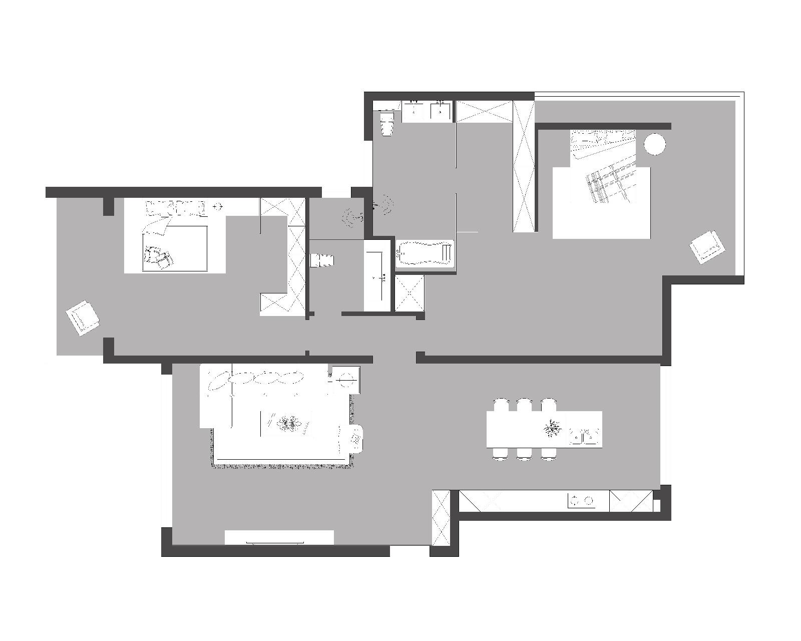 台式  金茂府住宅设计