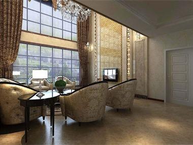 欧式风格从华丽的装饰,蕴含的色彩,精美的造型来达到