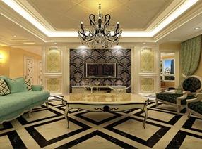 古典风味暗藏岁月丽影 中海城奢华豪宅设计
