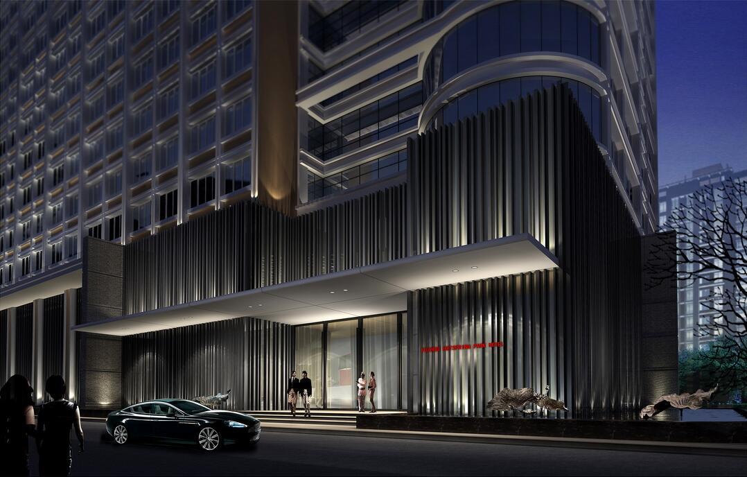 最佳西方财富酒店外观