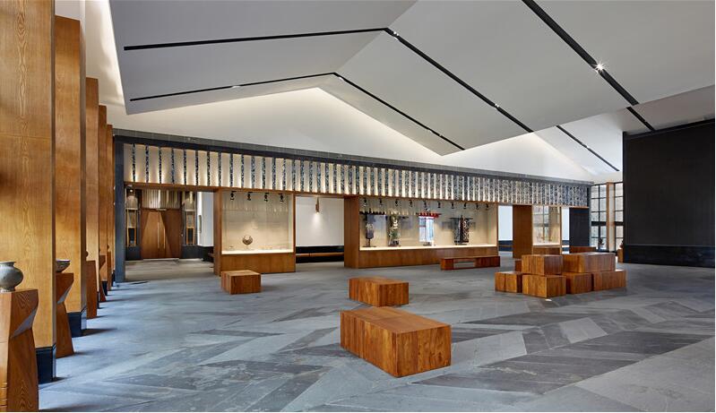 山里江南游客中心文化空间