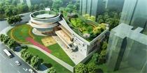 将生态公园延伸至园内屋顶,打造看得见森林的幼儿园