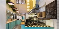 香港KASA茶餐厅,中式美食和西式美学的融合