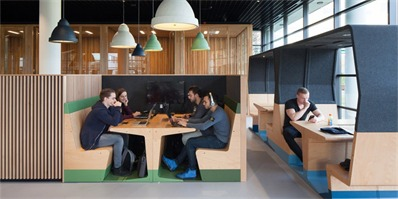 家具模块化设计 HUBB可以任意组合以应对不断变化的工作与环境