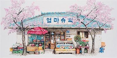 被我们忽略的日常杂货店 在艺术家笔下原来可以这么美