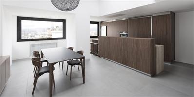 意大利180平米阁楼公寓设计 极简设计,精致内装