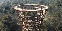 螺旋景观塔 带你全视角一览丹麦