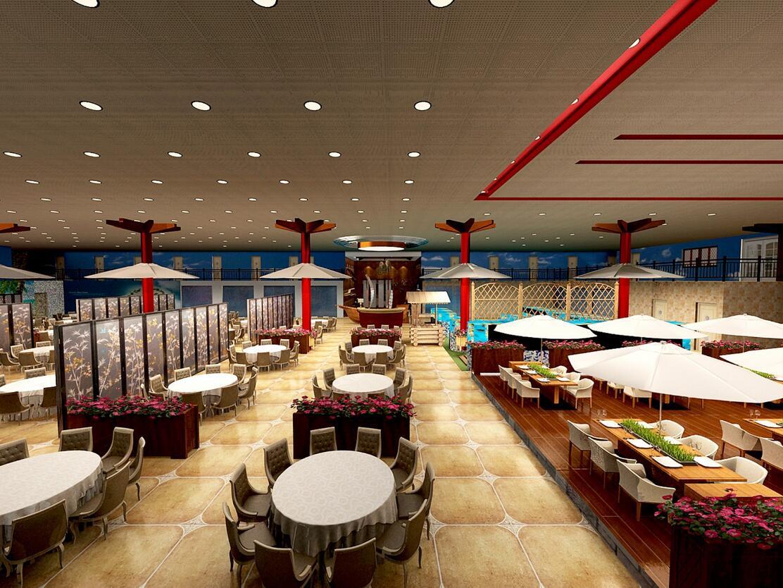 餐厅用餐区效果图