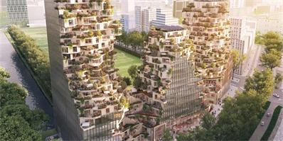 阿姆斯特丹大型CBD综合体Valley破土动工