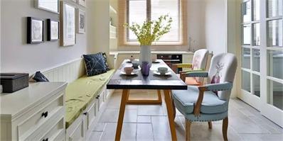 110㎡现代美式,整个空间给人以儒雅端庄的氛围感