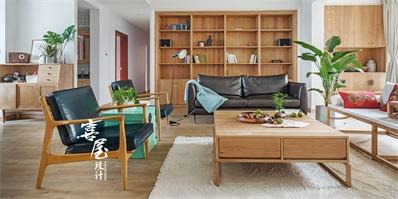 150㎡三室两厅 时尚感十足的新中式空间